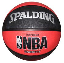 Spalding® NBA® Varsity Outdoor Red/Black Basketball