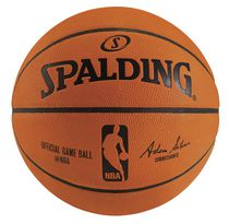 Spalding® Ballon de basket-ball officiel NBA