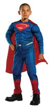 Rubie's Batman v Superman: Dawn of Justic Superman Muscle Chest Child Costume M