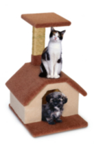 Fantasy Pet Furniture - Puppy and Cat House