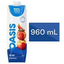 Oasis Classic Apple Juice NFC