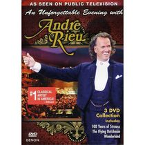André Rieu - An Unforgettabel Evening With André Rieu (3-Disc) (Music DVD)