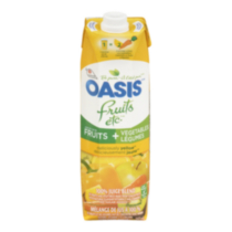 Oasis Fruits etc Deliciously Yellow Juice