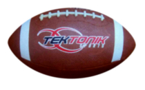 Tektonik Sports 'Play Action' Jr Football - Brown