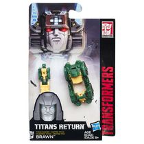 Transformers Generations Titans Return Titan Master Brawn Action Figure