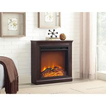 Dorel Bruxton Electric Fireplace Cherry