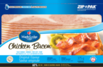Poulet genre Bacon saveur original de Maple Lodge FarmsMD