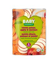 Baby Gourmet Foods Inc Sweet Potato Apple Chicken Organic