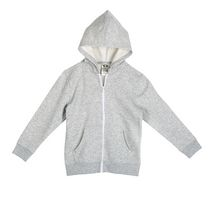 Athletic Works Boys' Zipper Hoodie Gray 6