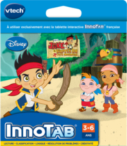 InnoTab 2 Software: Jake and the Neverland Pirates- French Version