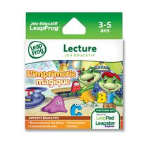 LeapFrog Explorer Letter Factory Learning Game French