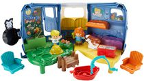 Coffret de jeu Caravane musicale Little People de Fisher-Price -Anglais