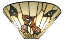 Tiffany wall sconce