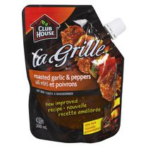Club House La Grille Roasted Garlic  & Peppers Wet Rub