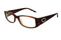 Oscar OS702 Women's Brown Eyeglasses