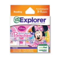 Cartouche de jeu LeapFrog Explorer™ : Disney Minnie Mouse Bowtique Super Surprise Party! - Version anglaise