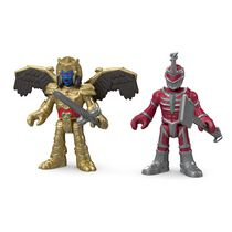 Figurines Armure de combat Power Rangers Imaginext de Fisher-Price - Goldar et Lord Zedd