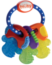 Nuby IcyBite Teething Keys