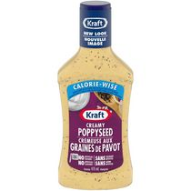 Kraft Calorie Wise Creamy Poppyseed Dressing