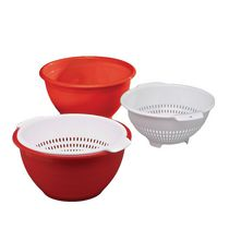 Mainstays 2-Piece Bowl Colander Set