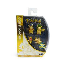 Pokémon 20th Anniversary 4-Figure Pikachu Gift Pack