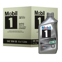 Mobil 1 Advanced Synthetic Motor Oil, 10W-30