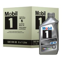 Mobil 1 Advanced Synthetic Motor Oil, 5W-30
