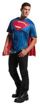 Costume pour adultes T-shirt Superman de Batman v Superman: Dawn of Justice par Rubie's Grand