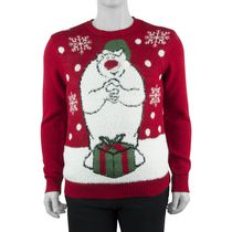 George Men's 3D Christmas Sweater XL