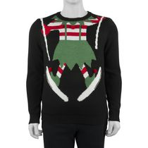 George Men's 3D Christmas Sweater L