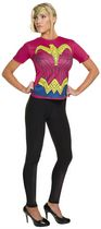 Costume pour adultes T-shirt Wonder Woman de Batman v Superman: Dawn of Justice par Rubie's Petit
