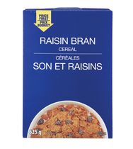Price First Raisin Bran Cereal