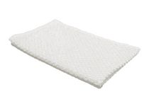 Popcorn Textured Hand Towel White