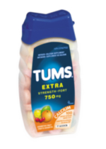 Tums Extra Assorted Fruit Antacid Calcium Supplement