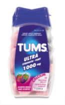 Tums Antiacid Calcium Supplement 1000mg