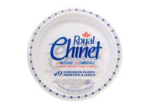 Royal Chinet Luncheon Plate