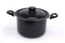 Everyday Basix By Starfrit Stock Pot 5.7 L with Strainer Lid