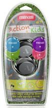 Maxell Action Kids Earclip Headphones with Microphone