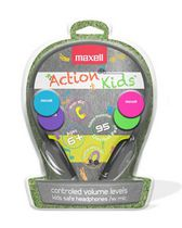 Maxell Action Kids Headphones with Microphone