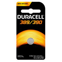 Duracell 389/390 1.5V Silver Oxide Watch/Electronic Battery