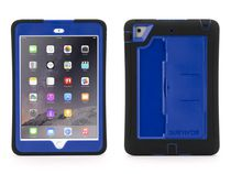 Griffin Survivor Slim Case + Stand for iPad Mini Series - Black/Blue