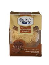 Caramel anglais croquant de Great Value