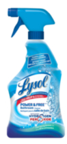 Lysol Power & Free Bathroom Cleaner Trigger with Hydrogen Peroxide - Cool Spring Breeze