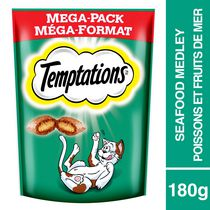 Whiskas Temptations Seafood Medley Flavour Treat for Cats