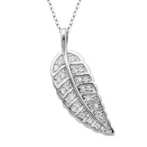 PAJ Sterling Silver Feather Pendant