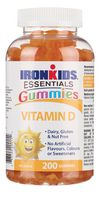 Ironkids Vitamin D - 200 Gummies
