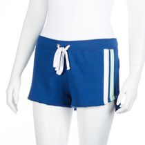 g:21 Women's French Terry Track Short Blue XS