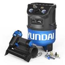 Hyundai Power Equipment AIRHHC2NECCD 2 Gallon Air Compressor Nailer Kit