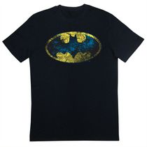 Batman Tee Shirt, Short Sleeves, Scoop Neck for Men S