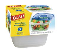 GladWare® Soup & Salad Containers- (5)